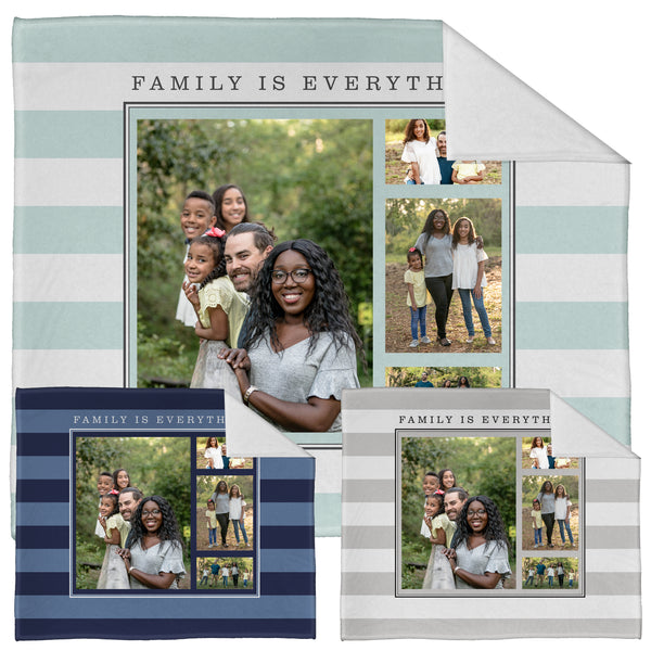 "Family is Everything Plush Throw (50"" x 60"")"