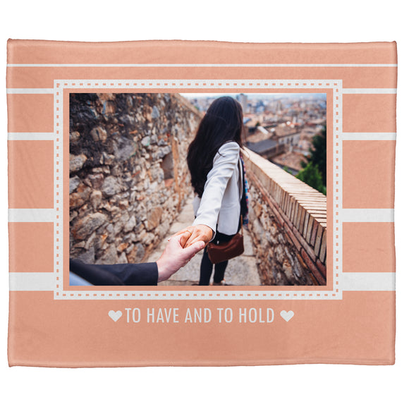 "To Have And To Hold Plush Throw (50"" x 60"")"