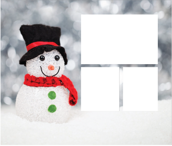 "Snowman Holiday Plush Throw (50"" x 60"")"