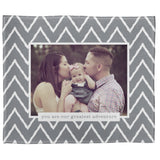 "FOTO Baby Greatest Adventure Gray Plush Throw (50"" x 60"")"