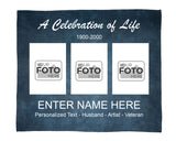 Celebration of Life - Memorial Blanket