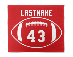Personalized Football Rally Towel