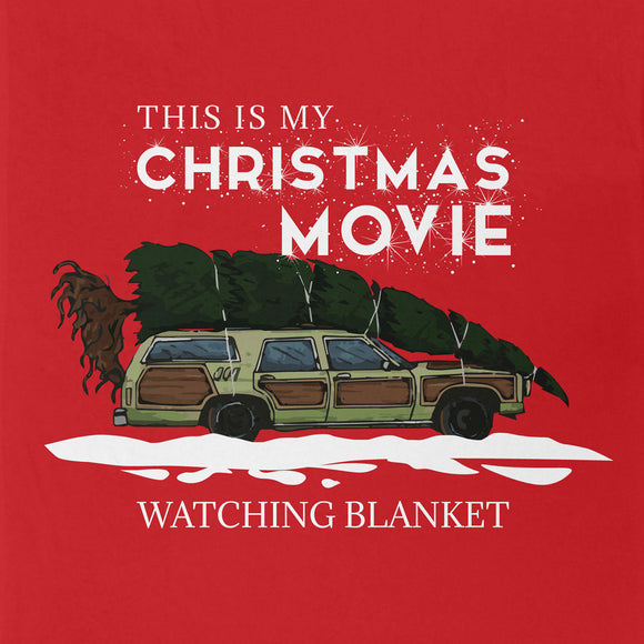 This is My Christmas Movie Watching Blanket