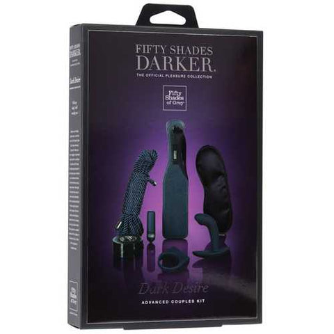 Fifty Shades Darker Dark Desire Advanced Couples Kit
