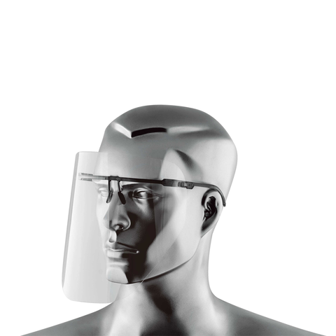 Face Visor with Disposable Face Shields