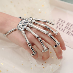 🔥BUY 2 SAVE $9🔥Skeleton Hand Bracelet