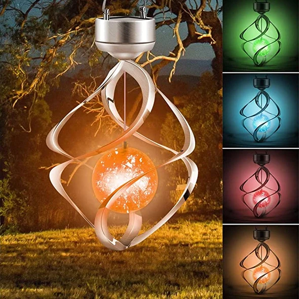 ✨BUY 2 FREE SHIPPING✨LED Color Changing Solar Wind Chime Light