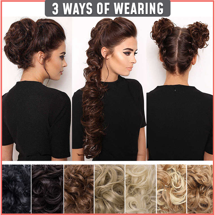 Instant Fluffy Hair Extension Wrap(BUY 2 SAVE $5!!!)