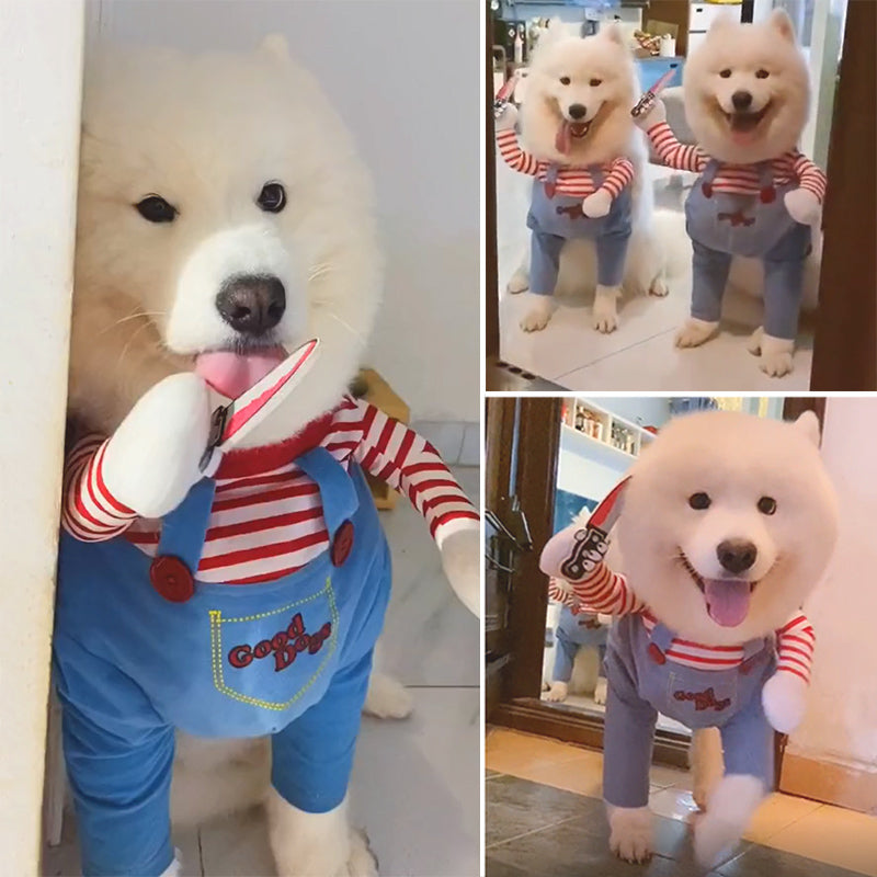 🔥BUY 2 SAVE $5🔥Novelty Halloween Dog Costumes Pet Clothes