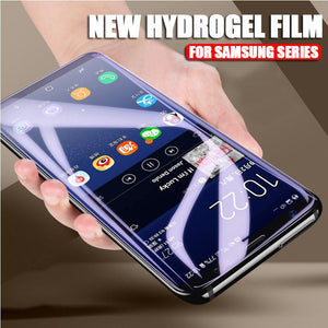 *10D Full Cover Hydrogel Film For Samsung S8(Plus)/S9(Plus)/S10(E/Plus)/NOTE8/9/A8(Plus) Full Coverage Screen Protector (Not Glass)