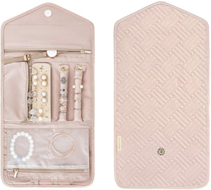 Jewelry Organizer Roll Foldable Case