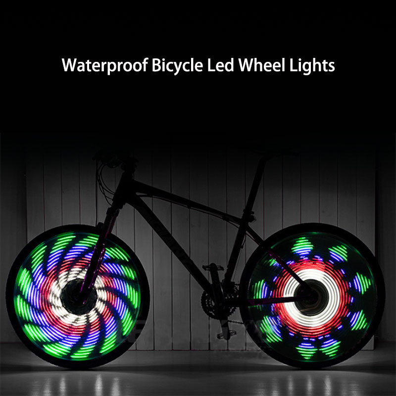 Waterproof Bicycle Led Wheel Lights