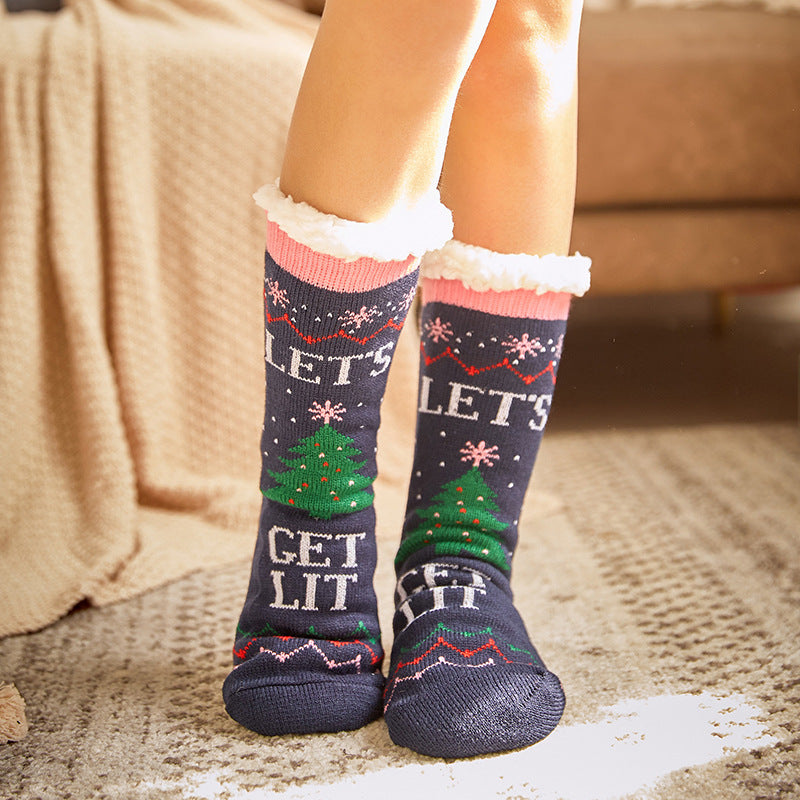 Christmas comfort warm slippers socks