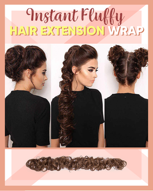 (BUY 2 GET 1 FREE)Instant Fluffy Hair Extension Wrap