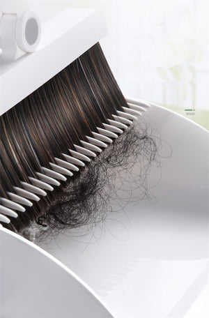 Filter hair foldable no dead angle ultra clean broom set