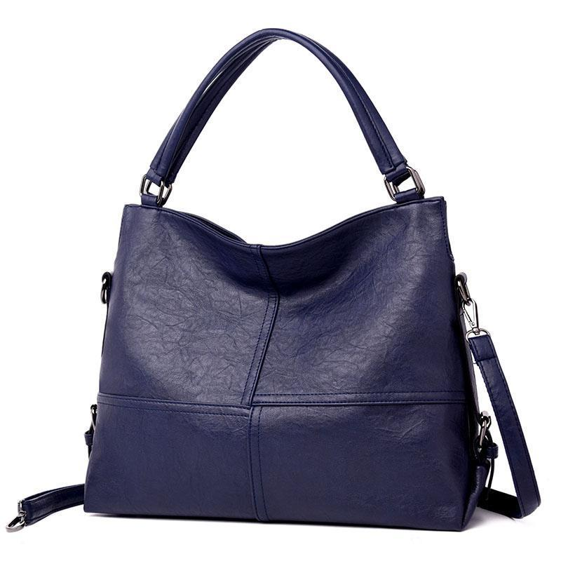 1a8dbdef616 ... Load image into Gallery viewer, Elegant Solid High Quality Tote Bag  Handbag ...