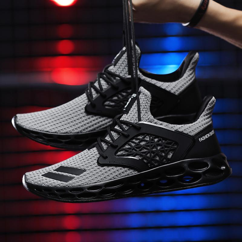 ff04f8a76 ... Load image into Gallery viewer, Shoes - 2019 New High Quality Men  Sneakers Black 8.5 ...