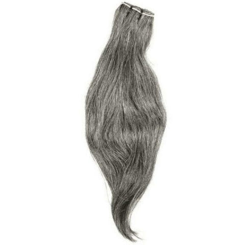 Vietnamese Natural Gray Hair Extensions