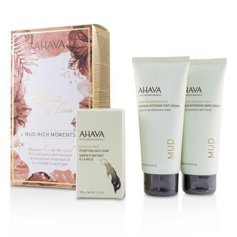 Ahava Hydrate Hand Foot Lotion Tube Gift Box Set 100ml