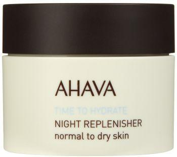 Ahava Time To Hydrate Night Replenisher to Dry Skin 50ml