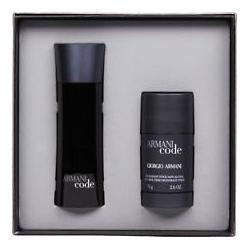 GIORGIO ARMANI CODE GIFT SET 75ML EDT + 75G DEODORANT STICK FOR MEN