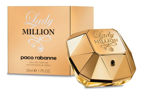 PACO RABANNE LADY MILLION EAU DE PARFUM SPRAY 50ML/1.7OZ- WOMEN PERFUME