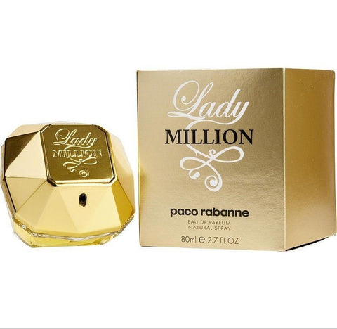 Paco Rabanne Lady Million Edp Spray 80ml 2.7oz