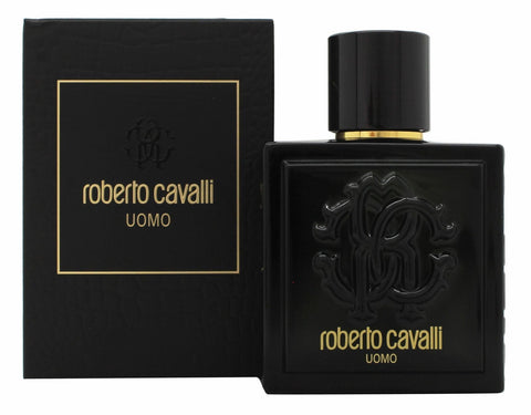 Roberto Cavalli Uomo Eau De Toilette Men Spray 100ml