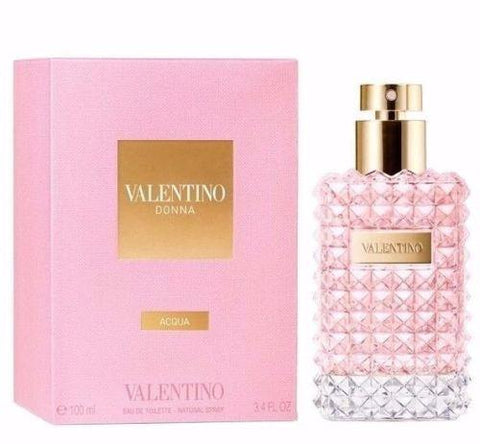 Valentino Donna Acqua Eau De Toilette Spray 100ml