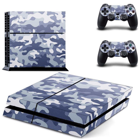 Blue Camouflage - Playstation 4