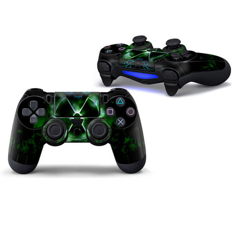 Green Danger - Playstation 4 Controller Skin