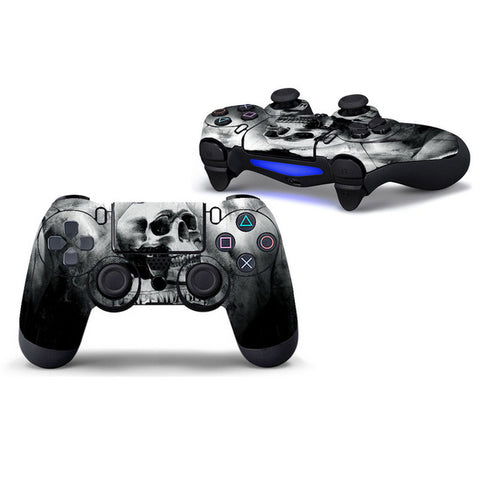 Grey Skull - Playstation 4 Controller Skin
