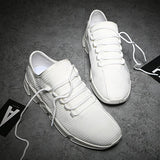 Running Shoes for Men Lace Up Low Top Jogging Shoes Man Athletic Footwear Breathable