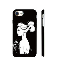 Load image into Gallery viewer, Mystere Noir Phone Case by Kerrie Hess