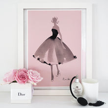 Load image into Gallery viewer, 'Petite Robe Noire' Art Print by Kerrie Hess
