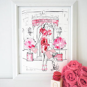 Love at Laduree Deux by Kerrie Hess