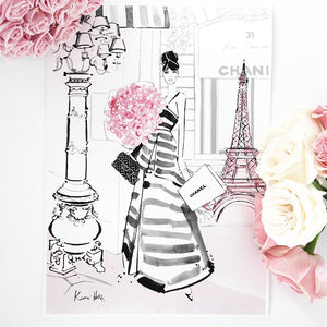 Paris Bloom by Kerrie Hess