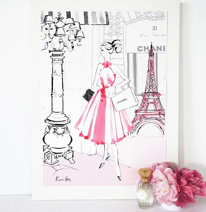 Paris en Rose by Kerrie Hess