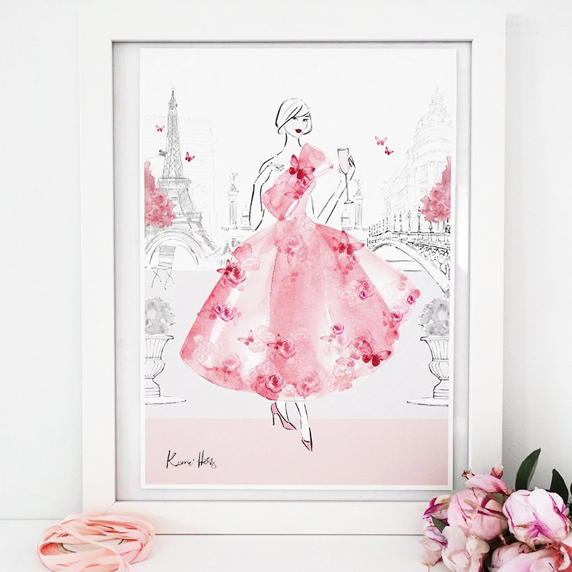 Rose Paris by Kerrie Hess