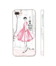 Load image into Gallery viewer, Audrey in Paris Phone Case by Kerrie Hess