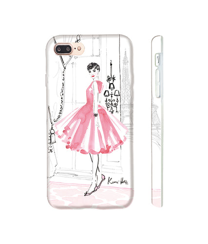 Audrey in Paris Phone Case by Kerrie Hess