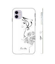 Load image into Gallery viewer, Jardin Noir Phone Case by Kerrie Hess