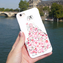 Load image into Gallery viewer, Jardin Rose Phone Case by Kerrie Hess