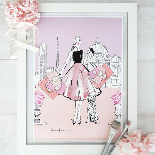 'Belle Melbourne' Art Print by Kerrie Hess