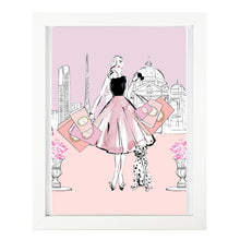 Load image into Gallery viewer, 'Belle Melbourne' Art Print by Kerrie Hess