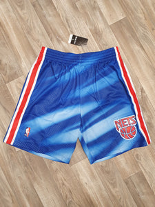 New Jersey Nets Road 1990-91 Swingman Shorts
