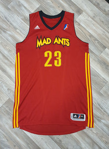 Anthony Kent Fort Wayne Mad Ants Jersey Size 2XL