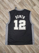Load image into Gallery viewer, Bruce Bowen Signed San Antonio Spurs Jersey Size Large