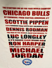 Load image into Gallery viewer, Chicago Bulls The Last Dance T-Shirt Size S M L and XL