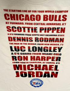 Chicago Bulls The Last Dance T-Shirt Size S M L and XL